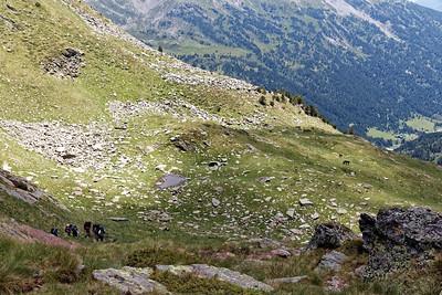 Vallée de Ransol - Au dessus du Tùro de Jan