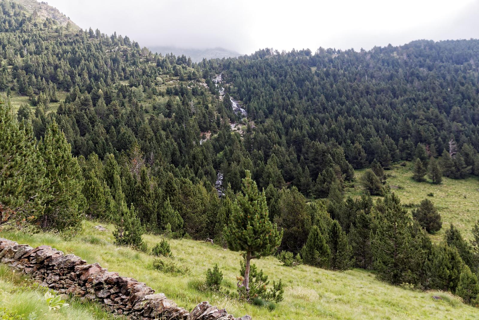 Vallée de Ransol - Cascade du Riù de Jan