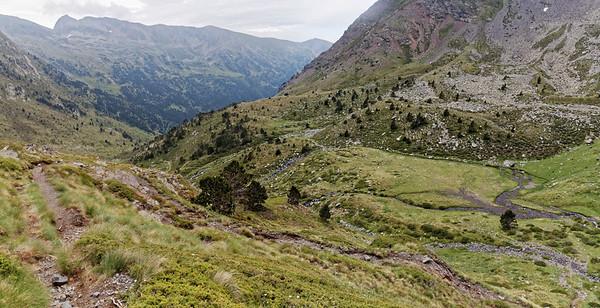 Vallée de Ransol - Au dessus de la Font des Clots de la Llosa