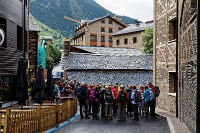 Col d'Inclès - Etangs de Fontargente - Départ avec Zig Zag Rando