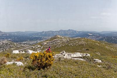 Descente vers le Mont Lantin - Aubagne & Ste Baume
