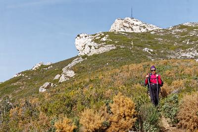 Mt Ste Croix - Redescente