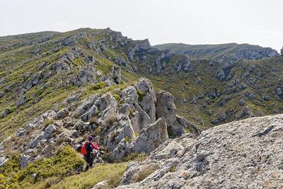Crête entre Val Toulouse et Vallon de l'Evêque