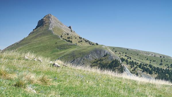 Pointe d'aiguille, Massif des Monges, France