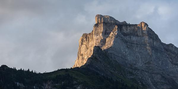 Chaine des Fiz, Haute-Savoie, France