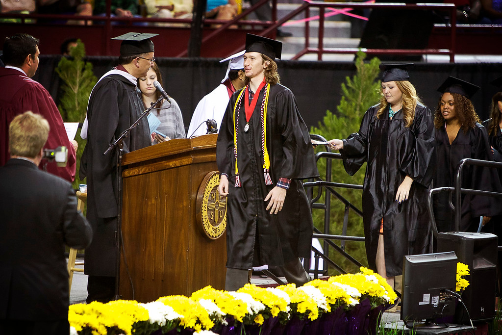 Randy NMSU Graduation
