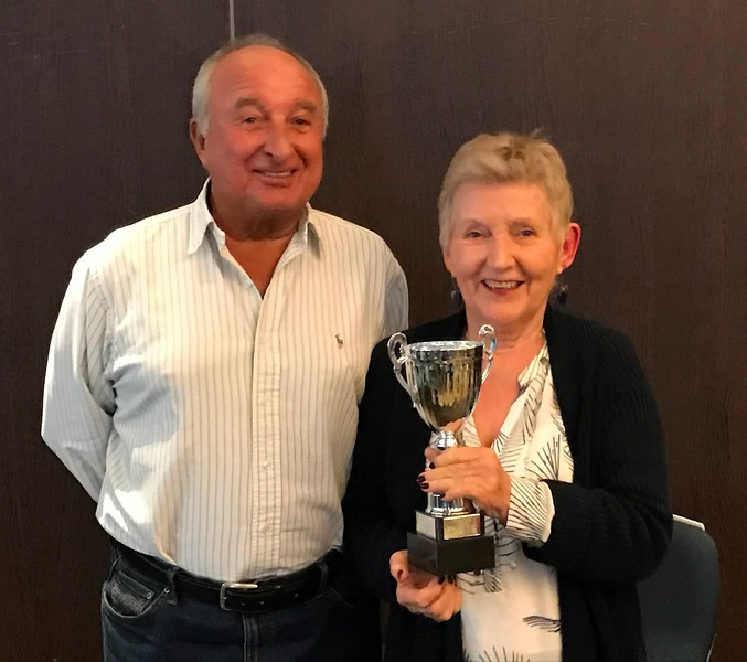 2017 Premier Grand Masters winners - Tom Gisborne & Sandy Davies