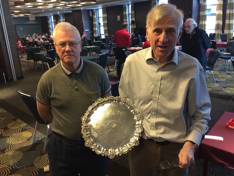 2017 Grand Masters winners - Roger Gibbons & David Kendrick