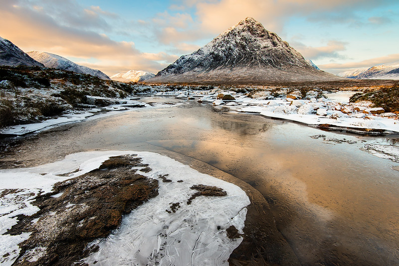 Winter Morning Glencoe