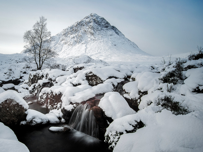 Buachaille Etive More in Winter