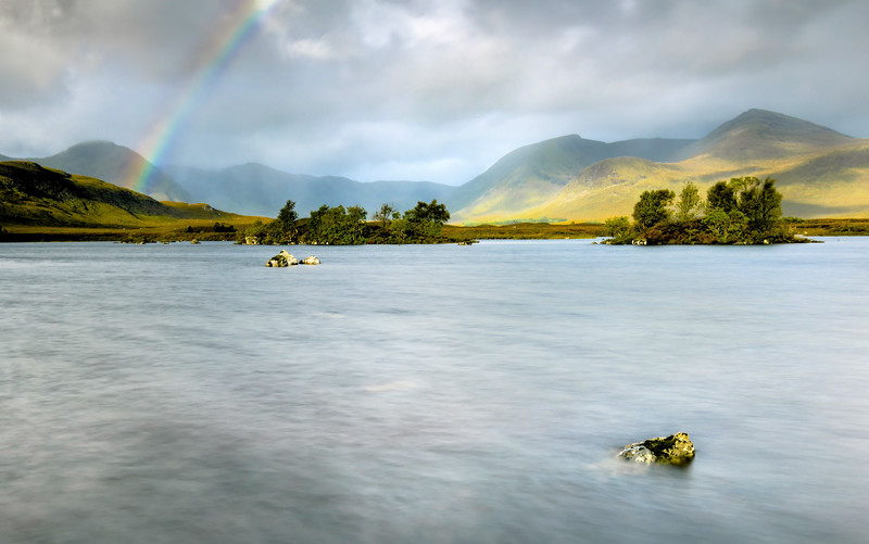 Rainbow on Rannoch
