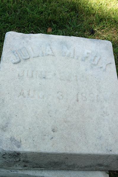 Julia died age 23