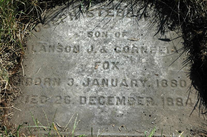 Joseph died age 5