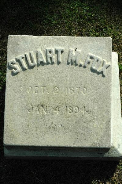 Alanson's son Stuart, died at age 24.