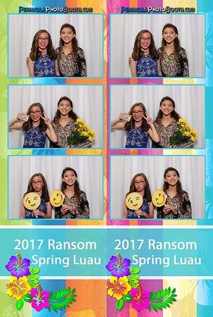 Ransom Middle School Spring Luau 4-7-2017