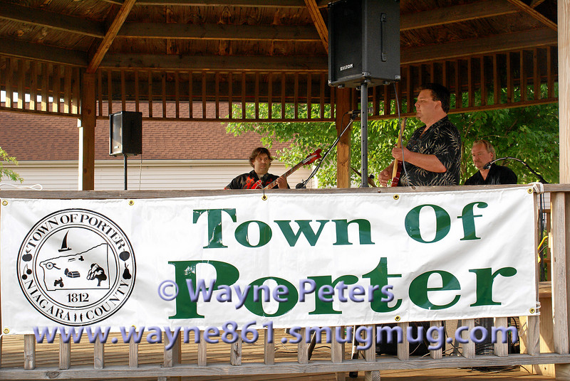The Little Louis Band plays in Ransomville, New York.