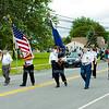 W.H. Stevenson Elementary School Flag Day Parade in Ransomville, NY