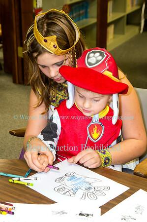 Ransomville Free Library Halloween 2015