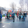The Lighting Of The Wreath in Ransomville, November 27, 2016.