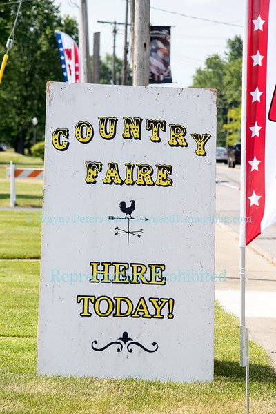 The Ransomville Country Faire, June 11, 2016, in Ransomville, NY.