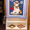 Quilt Show in the Ransomville Historical Room, March 8, 2016 in Ransomville, NY.