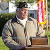 Veterans Memorial Rededication Ceremony in Ransomville, NY on November 11, 2017.