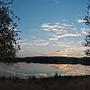 Sunset at Rajbagh lake