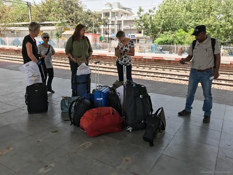 How we travel.