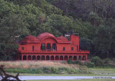 Jogi Mahal, many a dignitary's haven - overlooking Padam Talab
