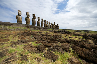 Ahu Tongariki Complex, Rapa Nui, Easter Island, Chile