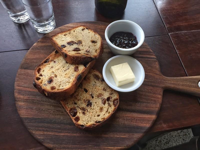 Healsville's toast and jam