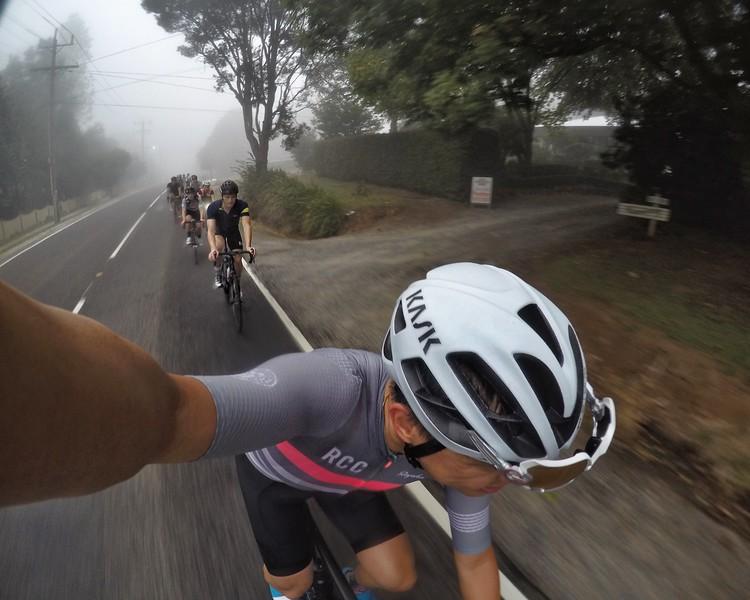 Foggy Mt Dandenong
