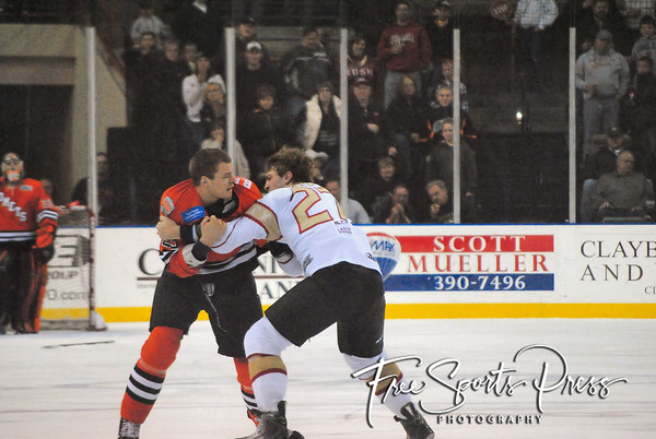 Rush vs Komets (12/03/2011)