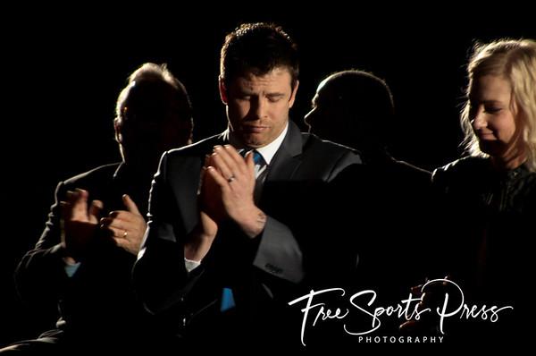 Scott Wray Jersey Retirement (04/03/2015)