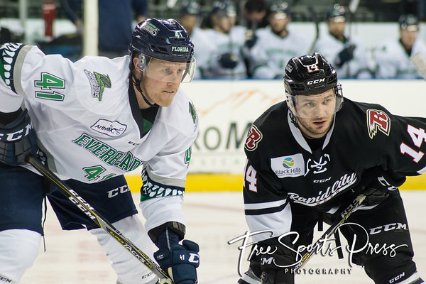 Rush vs Everblades (01/16/2019)