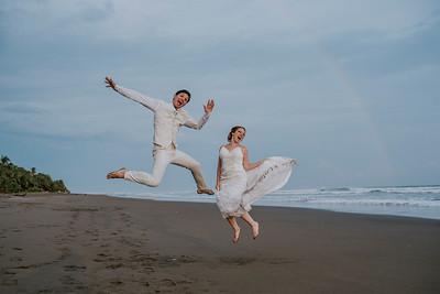 Raquel & Dani Playa Bejuco Wedding