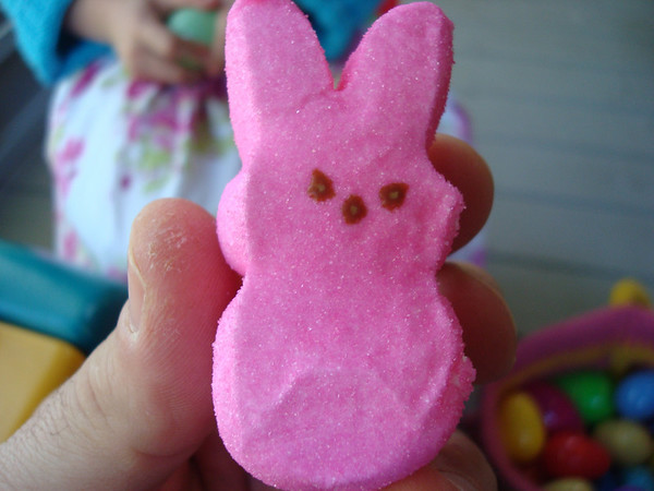 Easter bunny treat - 2007.