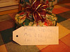 The package of cookies all wrapped up for Isabel's 1'st grade teacher -- 2008.