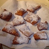 Dust them with powdered sugar and you have New Orleans style Beignets.