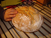 Mon. Feb. 1 -- Raquel's home made bread.