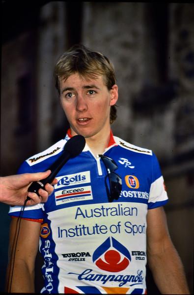 Brett Aitken - 1991 Adelaide City Criterium Presentation