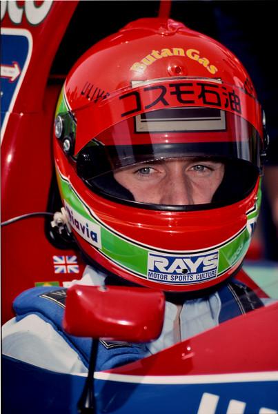 Eddie Irvine - Jordan F1 Team circa 1993