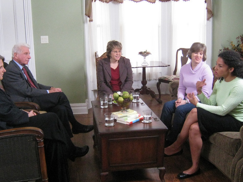 The PBS series, Real Moms, Real Stories, Real Savvy spent the day filming a segment at the Inn.