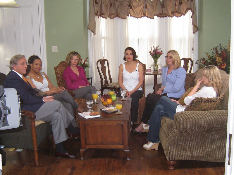 Interview segment of PBS series, Real Moms, Real Stories, Real Savvy.