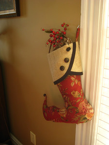 These beautiful winter stockings were handmade by Diane Sudhoff of South House Boutique especially for the Inn.  Contact Diane at southhousedesigns@yahoo.com