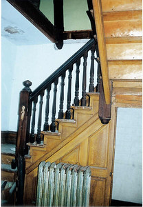 Staircase - it was in remarkably good condition!