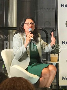 Rashida Tlaib Gives Remarks At NAACP Conference In Washington, DC