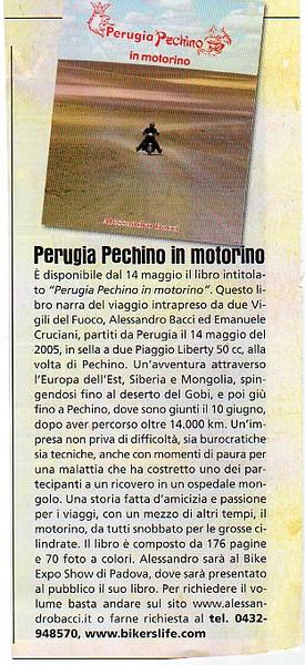 Libro Perugia-Pechino