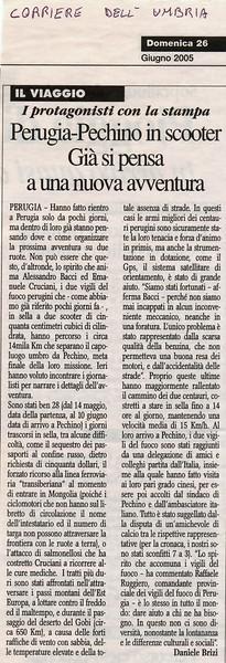 Corriere dell'Umbria<br /> RITORNO