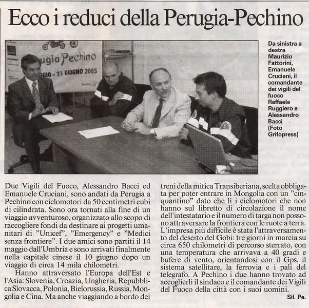 Il Messaggero<br /> CONFERENZA STAMPA RITORNO